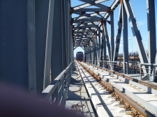 Обследование и испытания железнодорожного моста в г. Северодвинск